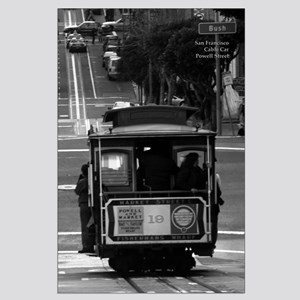 Black + White SF Cable Car Posters