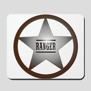 Ranger Badge Mousepad