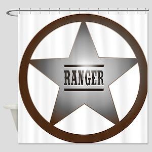 Ranger Badge Shower Curtain