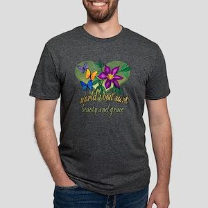 World's Best Aunt Mens Tri-blend T-Shirt