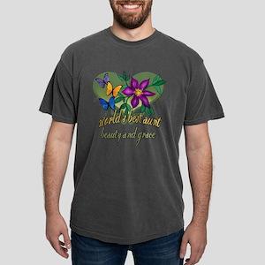 World's Best Aunt Mens Comfort Colors Shirt