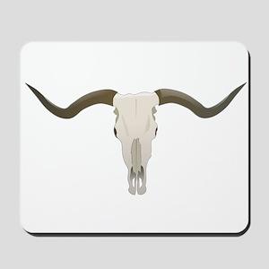 Longhorn Skull Mousepad