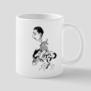 Cowboy Riding Horse Mug