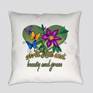 World's Best Aunt Everyday Pillow
