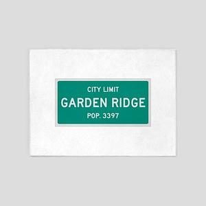 Garden Ridge Texas City Limits 5 X7 Area Rug