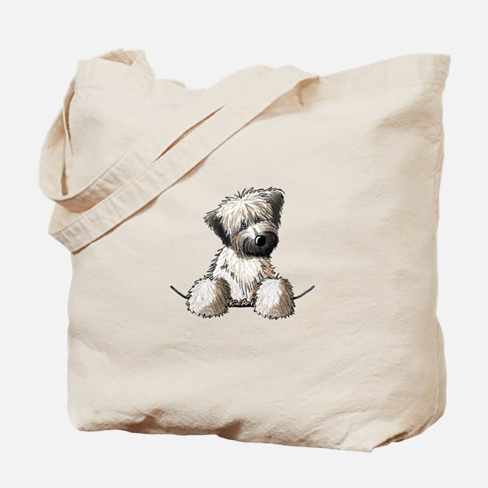 Pocket Wheaten Tote Bag