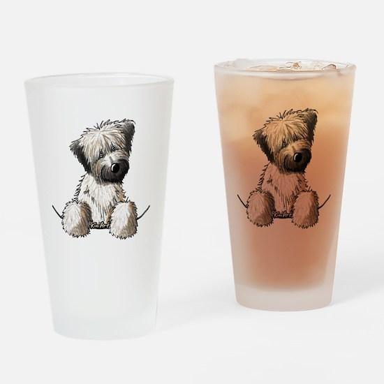 Pocket Wheaten Drinking Glass