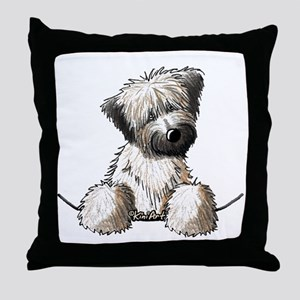 Pocket Wheaten Throw Pillow