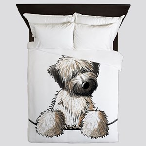 Pocket Wheaten Queen Duvet