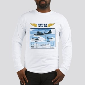 PBY_shirt_back Long Sleeve T-Shirt