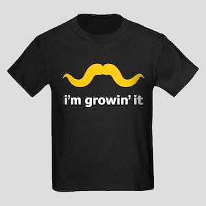 I'm Growin' It Kids Dark T-Shirt
