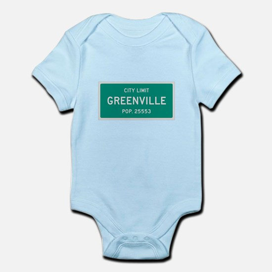 Greenville, Texas City Limits Body Suit