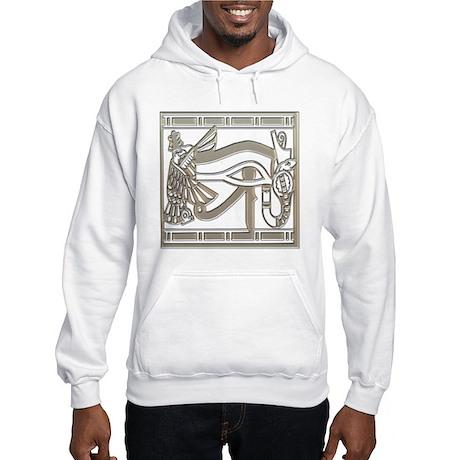 Egyptian Eye of Horus Hooded Sweatshirt