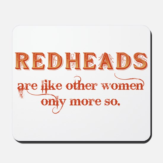 Redheads Mousepad