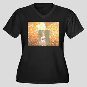 Gold Hersheys Rabbit. Plus Size T-Shirt