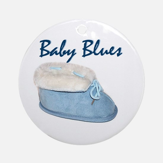 Baby Blues Ornament (Round)