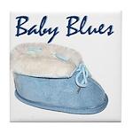 Baby Blues Tile Coaster