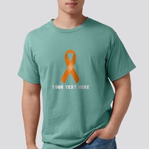 Orange Awareness Ribbon Mens Comfort Colors Shirt