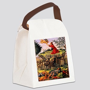 Agony on the Garden 1500 Canvas Lunch Bag