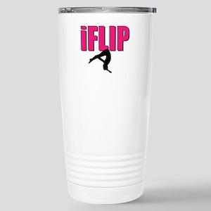 I Flip Tumbling gymnast Travel Mug