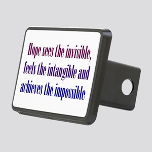 Impossible Hope Rectangular Hitch Cover