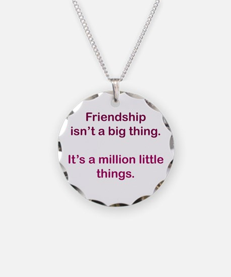 Friendship is Necklace