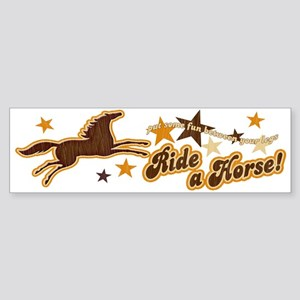 Put Some Fun Between Your Legs Horse Sticker (Bum