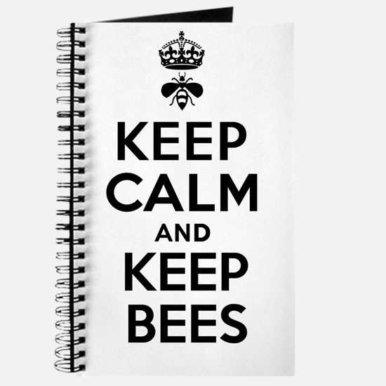 Keep Calm and Keep Bees Journal