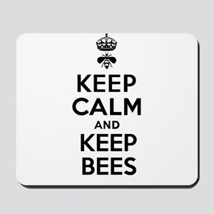 Keep Calm and Keep Bees Mousepad
