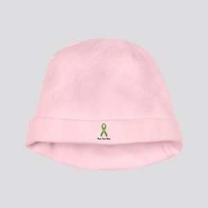 Green Awareness Ribbon Customized Baby Hat