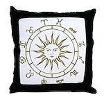 Astrowheel Throw Pillow