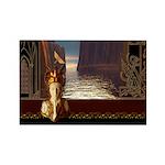 Goddess Journey Rectangle Magnet (100 pack)