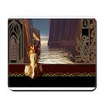 Elegant Goddess Journey Mousepad