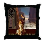 Goddess Journey Throw Pillow