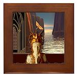 Water Goddess Framed Tile