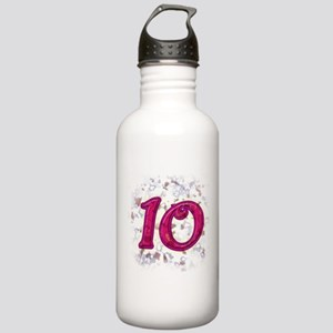 10 Stainless Water Bottle 1.0L