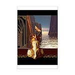 Mystical Goddess Mini Poster Print