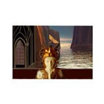 Mystical Goddess Rectangle Magnet (10 pack)