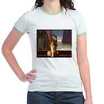 Mystical Goddess  Jr. Ringer T-Shirt