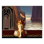 Mystical Goddess Small Poster