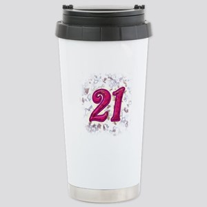 21 Stainless Steel Travel Mug