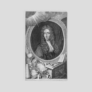 Robert Boyle, Irish chemist - 3'x5' Area Rug