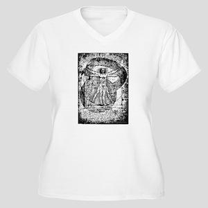 Kettlebell Vitruvian Man Plus Size T-Shirt