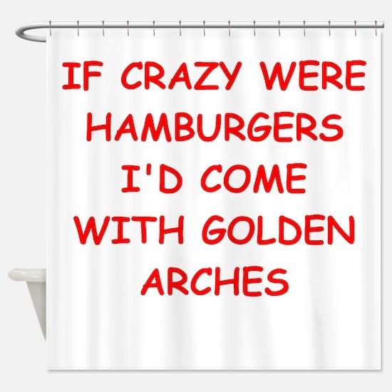 crazy Shower Curtain