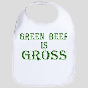 Green Beer is Gross Bib