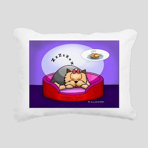 dreaming Rectangular Canvas Pillow