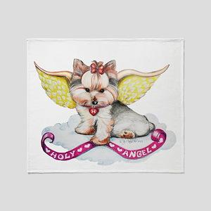 Holly Angel Holly Throw Blanket