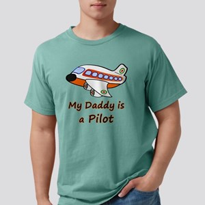 My Daddy is a Pilot Mens Comfort Colors Shirt