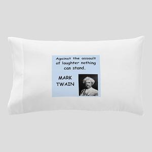 Mark Twain Quote Pillow Case