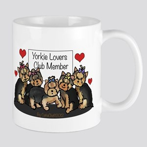 Yorkie Lovers Club Member Mug
